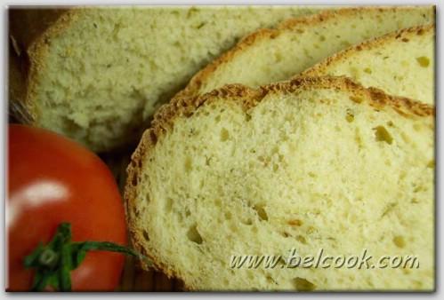 Деревенский хлеб с укропом и луком – кулинарный рецепт