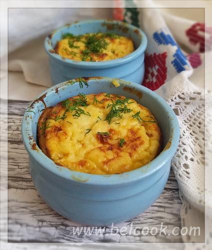 картофельная яичница