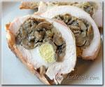 Куриные рулеты с грибами