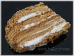 Медовый торт с зефиром