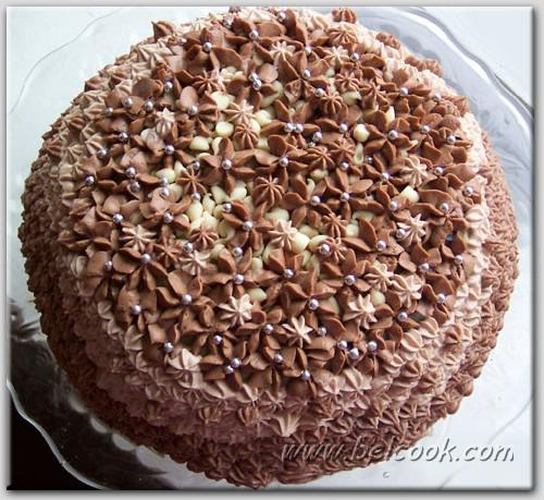 Рецепт торта Осиное гнездо