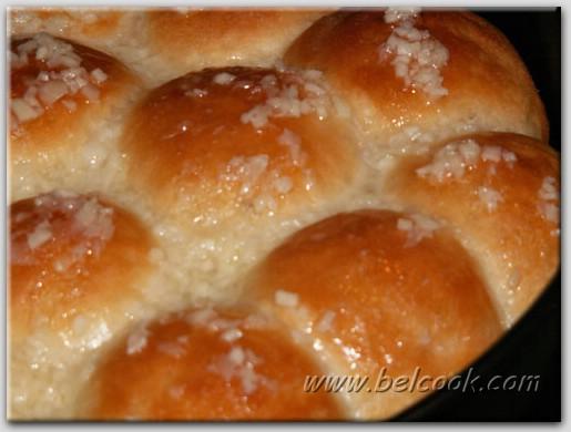 Пампушки с чесноком рецепт с фото