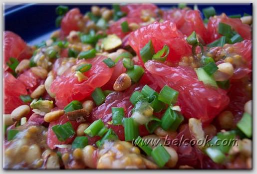 Салат из грейпфрута фото