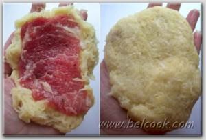 мясо по-купечески пошагово