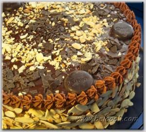 шоко_миндальный торт