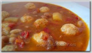 турецкий фасолевый суп