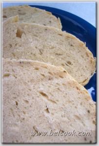 Картофельный хлеб с тмином