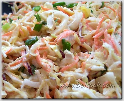 как приготовить очень вкусно салат из капусты