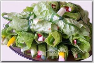 салат нарядный