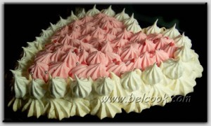 Торт-безе Снежный