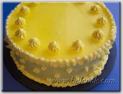 Рецепт торта Ананасовый