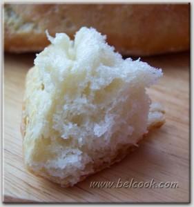 хлеб из пульи кусок