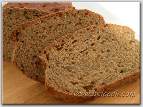 Хлеб на пиве с семечками