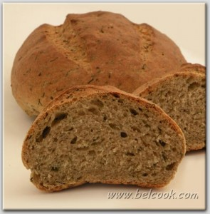 Хлеб с травами