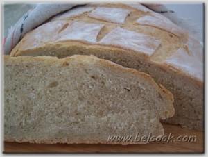 Деревенский хлеб разрез