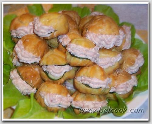 Заварные пирожные: рецепт с фото 71